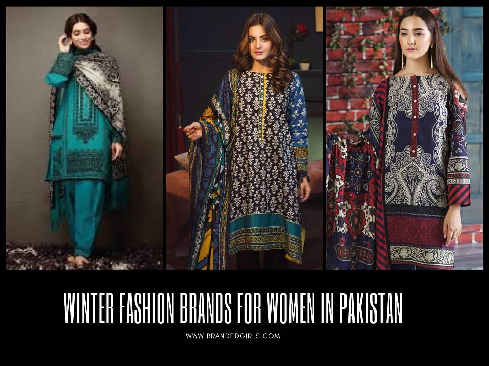 Winter-Fashion-Brands 10 Best Pakistani Winter Clothing Brands For Women In 2020