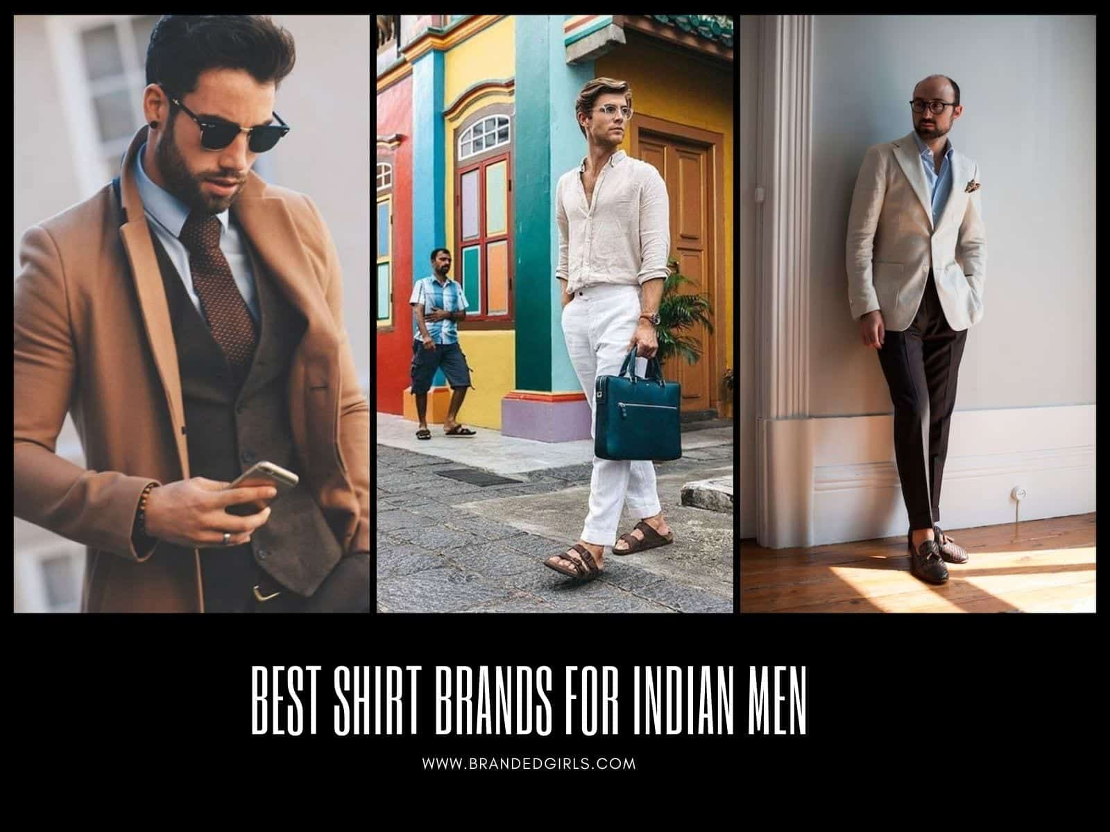 Shirt-Brands-for-Indian-Men Top 20 Shirt Brands In India For Men To Wear In 2020