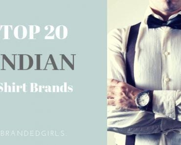 top shirt brands for men in india