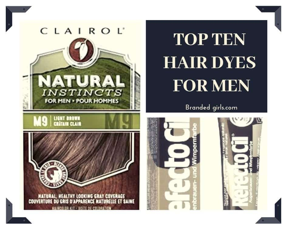 Men-Hair-Dyes Best Hair Dyes For Men - Top 10 Men's Hair Dye Color Brands