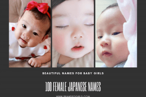 japanese names for girls