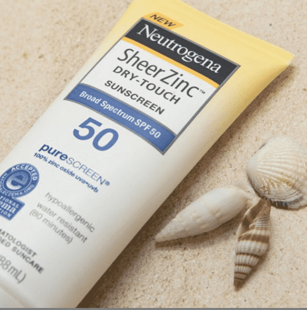 neutrogena-sheer-zinc-sunscreen Best Sunscreen 2019 - Top 15 Sunscreens You Need This Summer