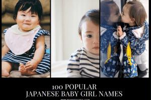 Most Popular Japanese Names for Girls (1)