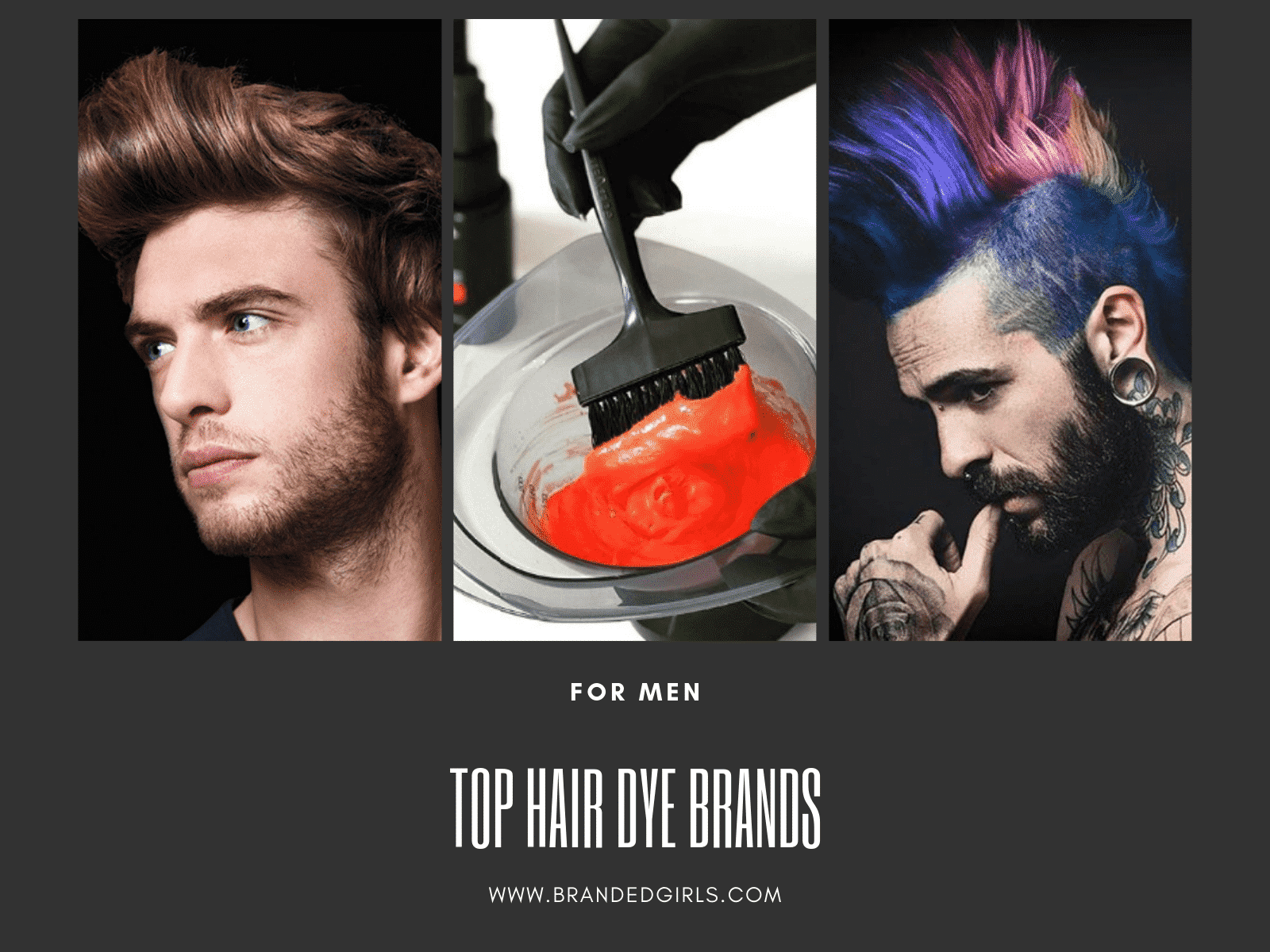 Best Hair Dyes For Men - Top 10 Men\'s Hair Dye Color Brands