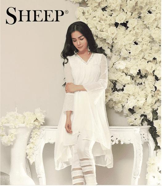 humaima-malik-sheep 24 Ways to Wear All White Outfits Like Pakistani Celebrities