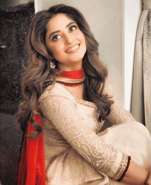 sajal-aly-coke 24 Ways to Wear All White Outfits Like Pakistani Celebrities