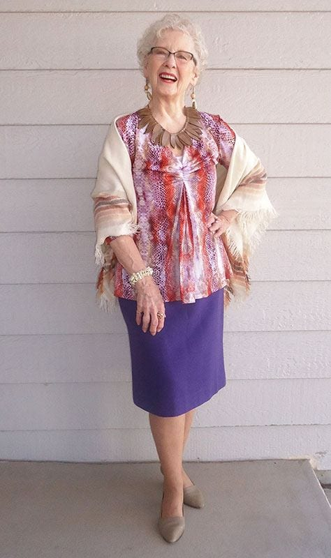 Kimono 20 Best Fall Outfits For Women Over 60 - Fall Dressing Ideas