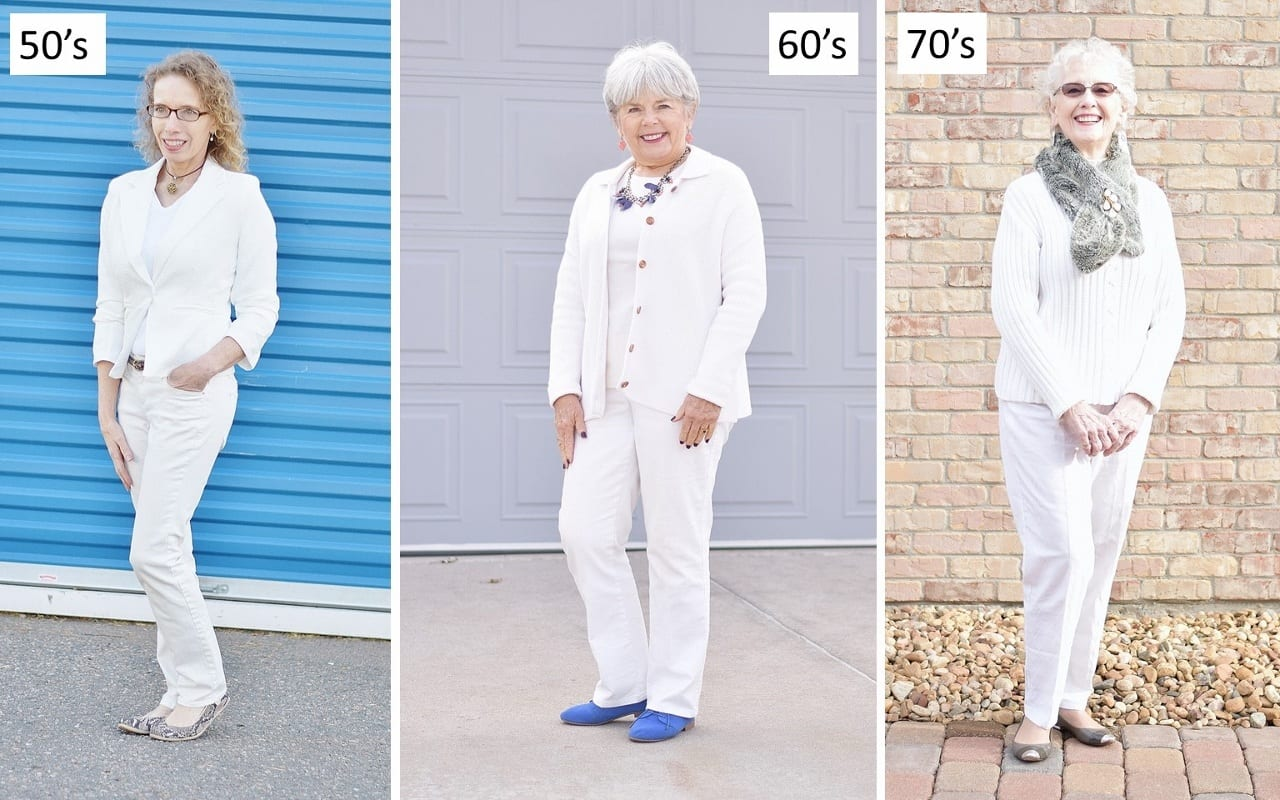 Monochromatic 20 Best Fall Outfits For Women Over 60 - Fall Dressing Ideas
