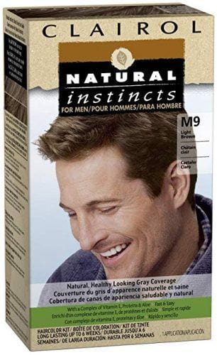 clairol-hair-dye-for-men-306x500 Best Hair Dyes For Men - Top 10 Men's Hair Dye Color Brands