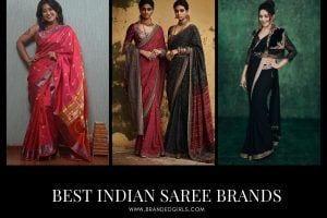 Top 13 Indian Saree Brands 2021 with Price Reviews