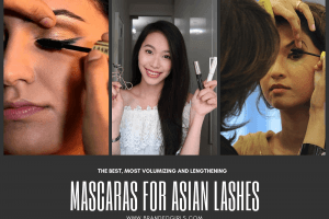 best mascaras for asian women lashes