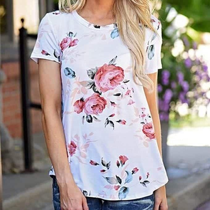 printed-blouse 20 Best Fall Outfits For Women Over 60 - Fall Dressing Ideas
