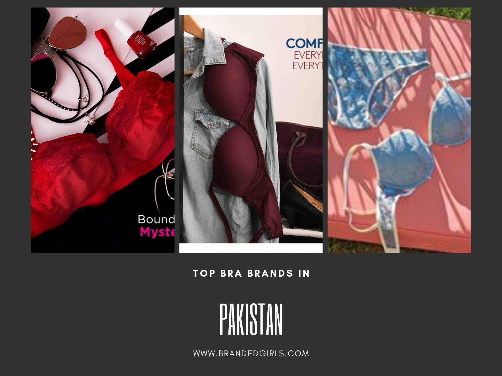 top-bra-brands Top Ten Bra Brands in Pakistan with Prices 2019 List