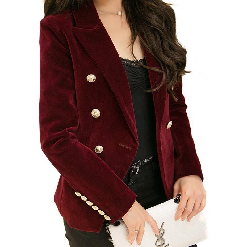 velvet-coat 20 Best Fall Outfits For Women Over 60 - Fall Dressing Ideas