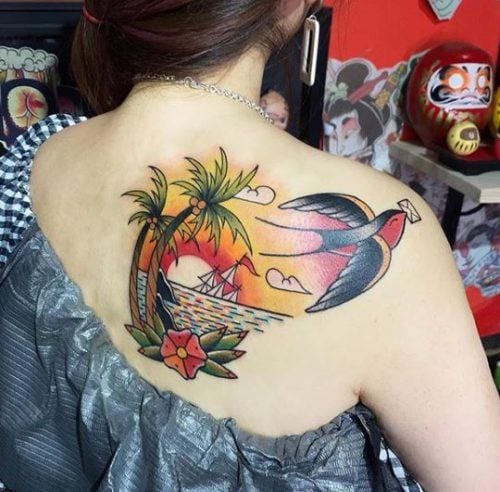 tatoo-for-skinny-girls-18-500x492 Tattoos for Skinny Girls - 30 Tattoo Designs for Slim Girls