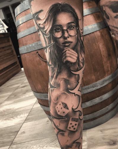 tatoo-for-skinny-girls-33-398x500 Tattoos for Skinny Girls - 30 Tattoo Designs for Slim Girls