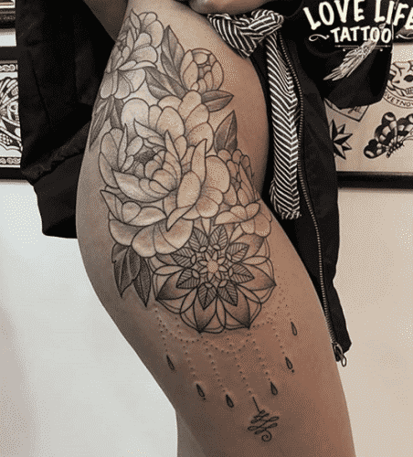 tatoo-for-skinny-girls-48-452x500 Tattoos for Skinny Girls - 30 Tattoo Designs for Slim Girls