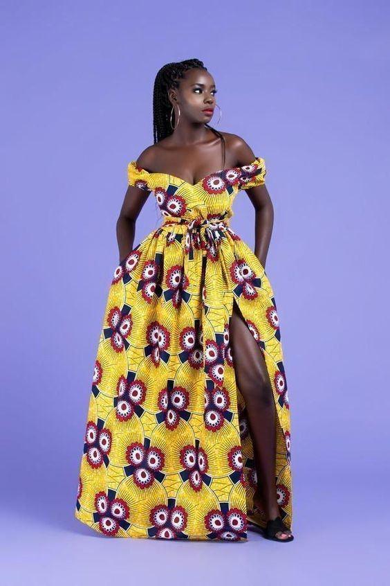 11 20 Gorgeous Ankara Gown Styles & Ideas On How To Wear Them