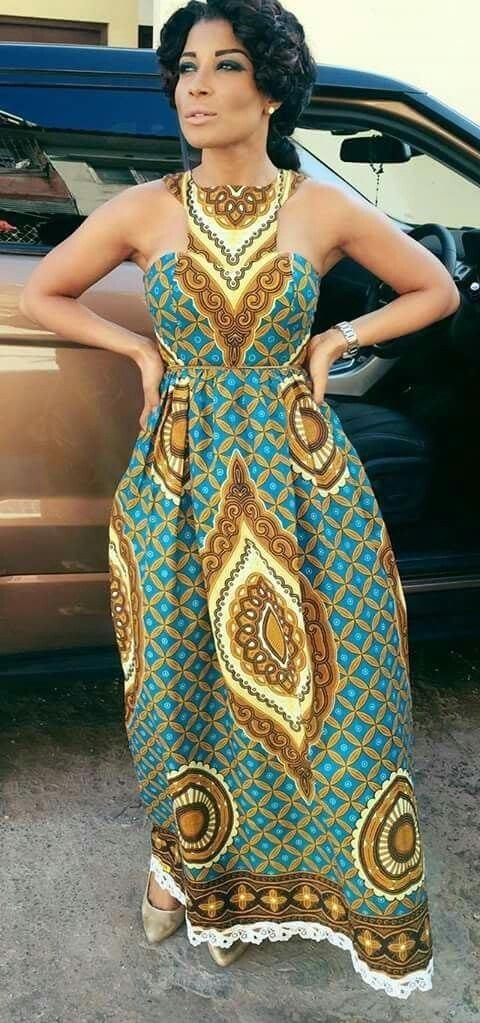 12 20 Gorgeous Ankara Gown Styles & Ideas On How To Wear Them