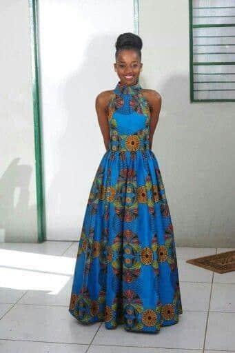 17 20 Gorgeous Ankara Gown Styles & Ideas On How To Wear Them