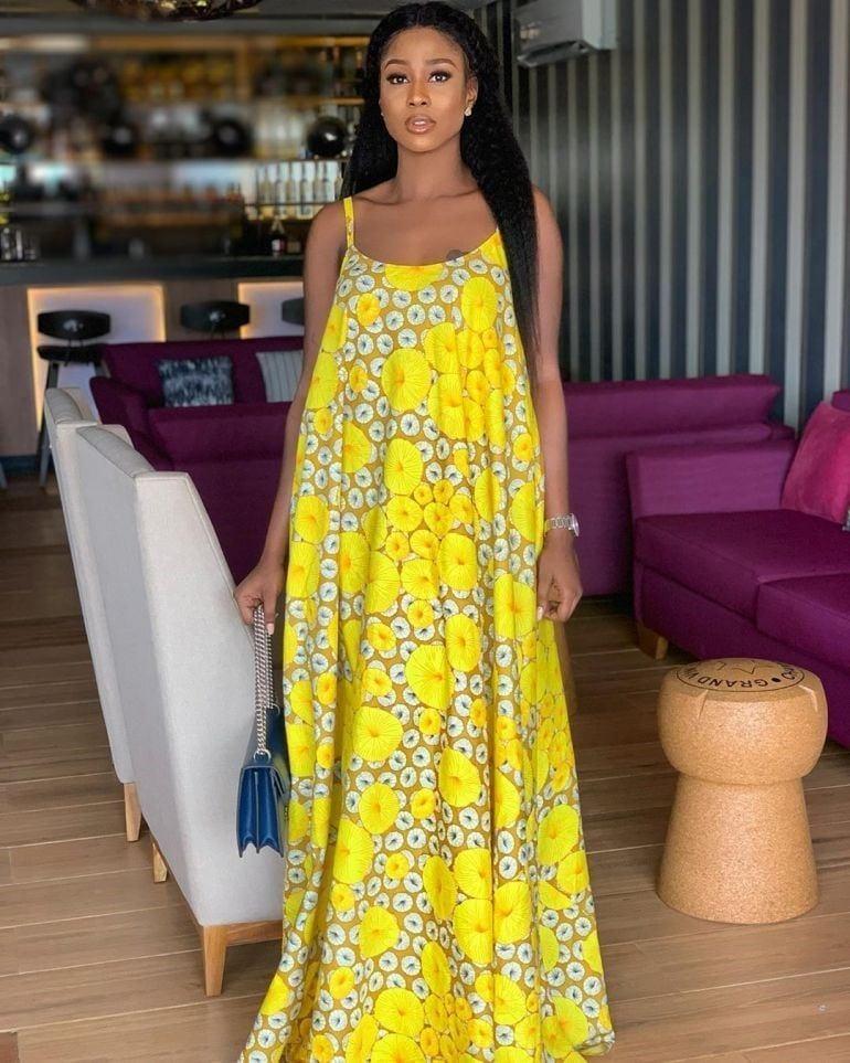 3 20 Gorgeous Ankara Gown Styles & Ideas On How To Wear Them