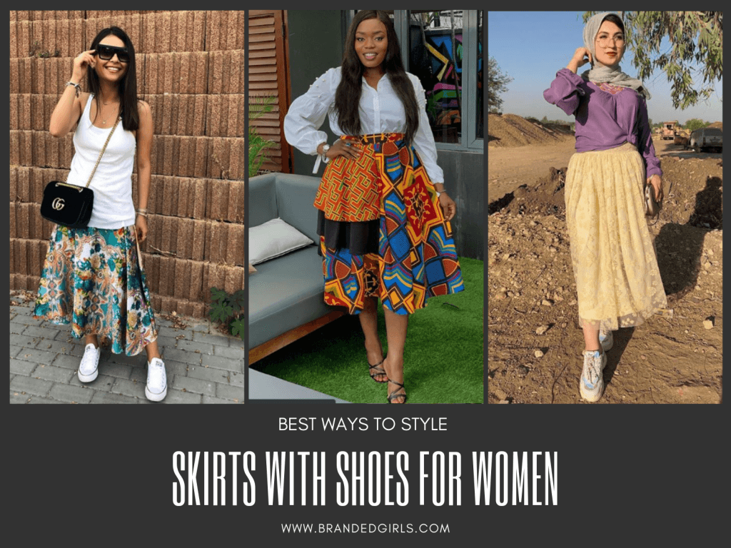 BEST-WAYS-TO-STYLE-SHOES-WITH-SKIRTS-1024x768 28 Recommended Shoes to Wear with Skirts of Different Types