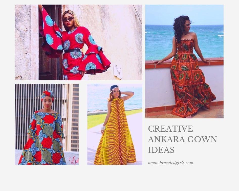Creative-ankara-gown-ideas 20 Gorgeous Ankara Gown Styles & Ideas On How To Wear Them