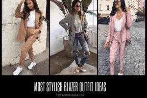 Women Blazer Outfits32 Ways to Wear Blazer in Different Styles