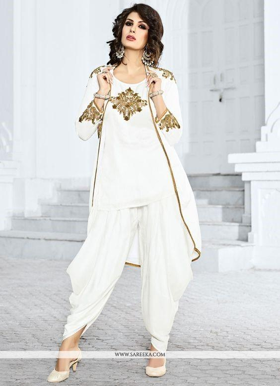20 30 Ideas On How To Wear White Shalwar Kameez For Women