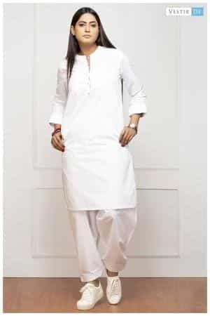 White Shalwar Kameez Styling Ideas (21)