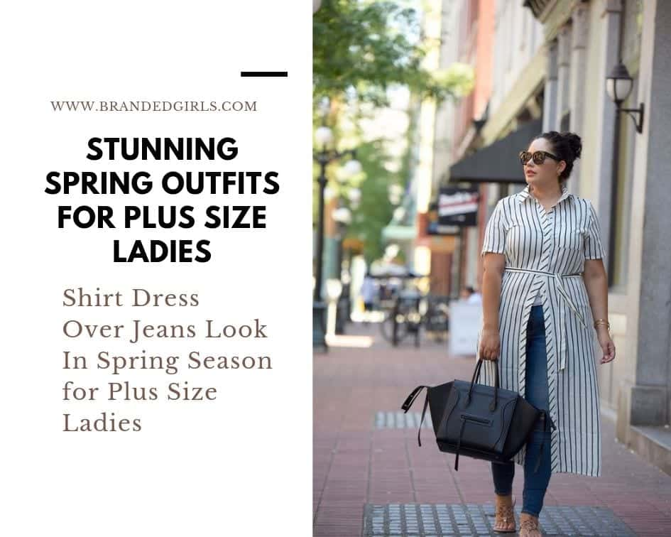 Sprin-Outfits 27 Stunning Spring Outfits Ideas for Plus Size Ladies