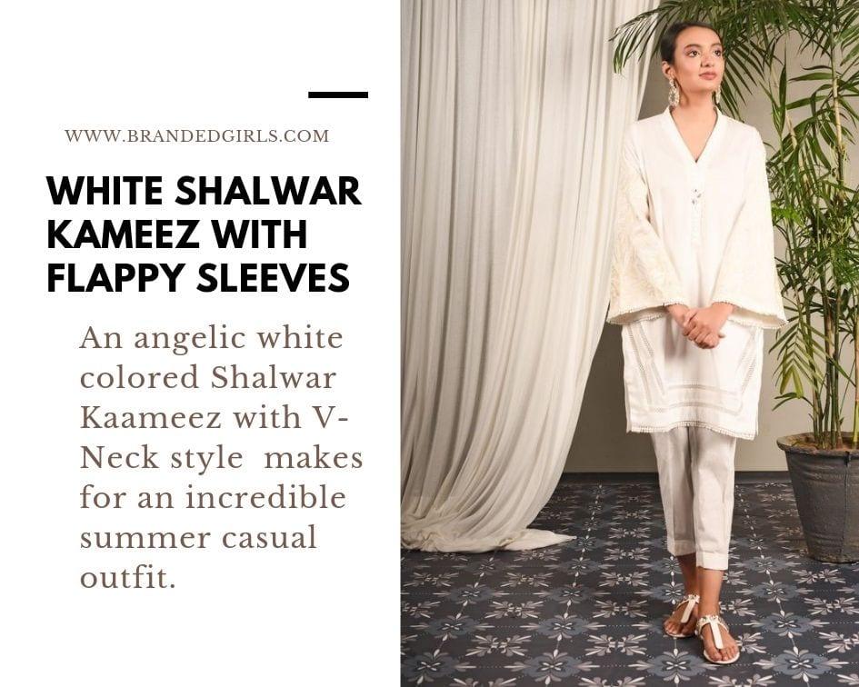 White Eastern Wear Styling Ideas