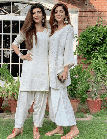 white-shalwar-kameez-4 30 Ideas On How To Wear White Shalwar Kameez For Women