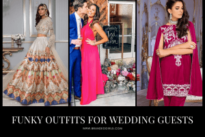 funky wedding guest outfits
