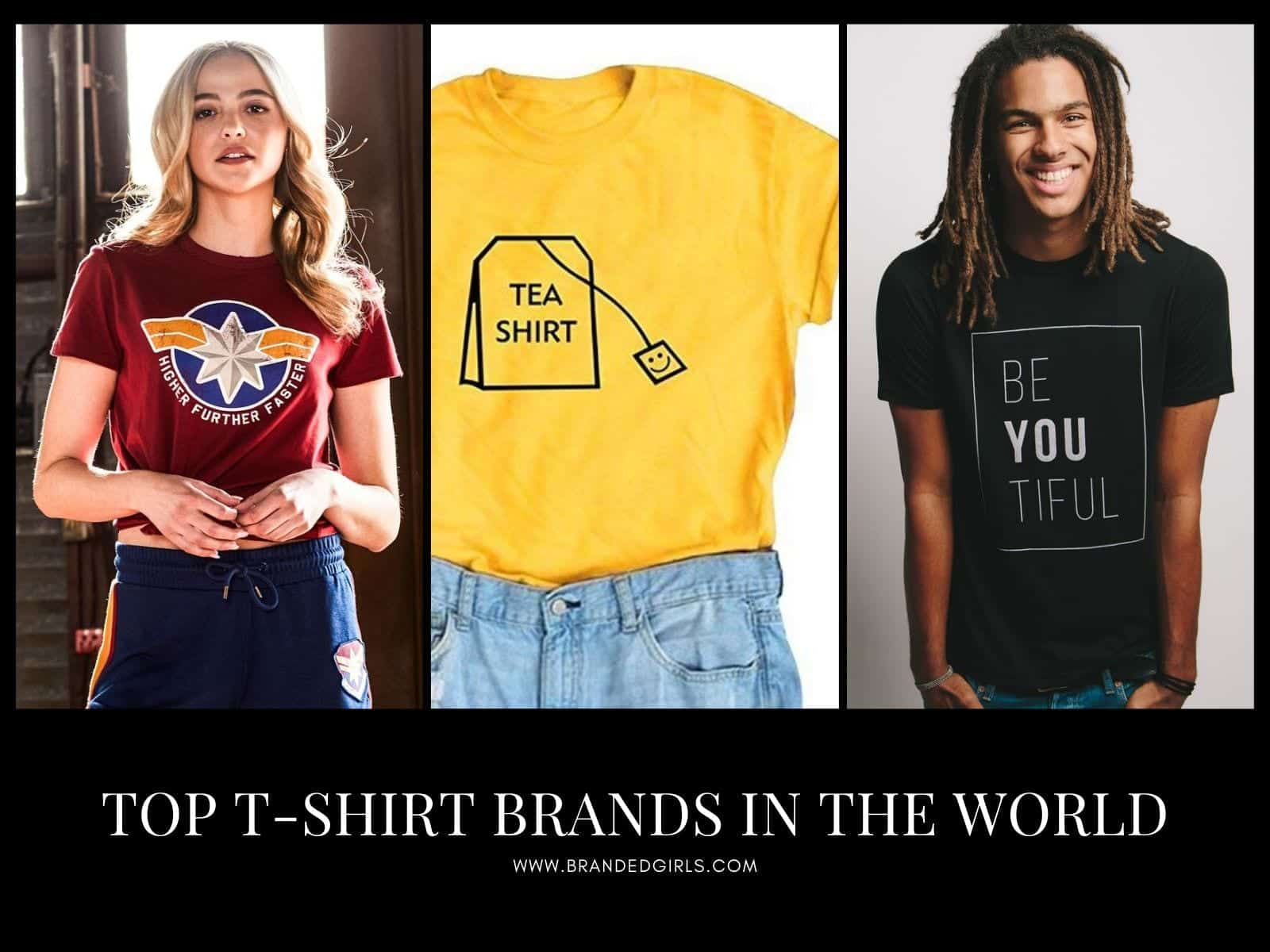 Top-T-Shirt-Brands-in-the-World Top 19 T-shirt Brands in the World For Men And Women