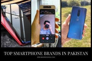 Smartphone Brands in Pakistan