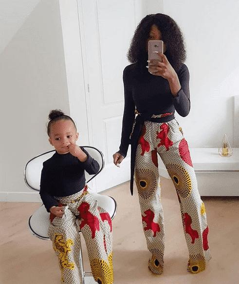 Matching Ankara Sets 20 Best Mother Daughter Ankara Outfits