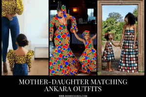 Matching Ankara Sets- 20 Best Mother Daughter Ankara Outfits