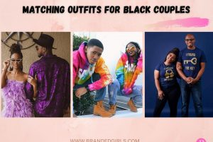 25 Cutest Matching Outfits For Black Couples