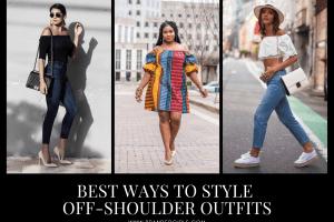 Off Shoulder Dresses Fashion-18 Tips to Wear off Shoulder Tops