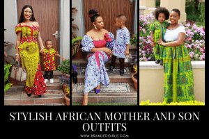 15 African Mother and Son Matching Outfits That You'll Love
