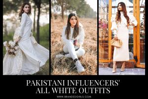 10 Ways to Wear All White Outfits Like Pakistani Influencers