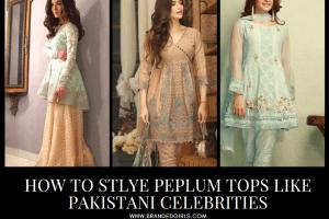 17 Ways to Style Peplum Tops Like Pakistani Celebrities