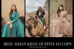20 Aiman Khan Outfits- How to Dress Like Aiman Khan?