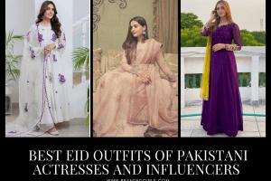 15 Best Pakistani Celebrity Eid Outfits Celeb Eid Fashion