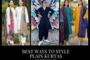 Plain Kurta Outfits 22 Ways to Wear Plain Kurtas for Women