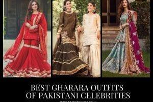 25 Gharara Outfits of Pakistani Celebrities Influencers