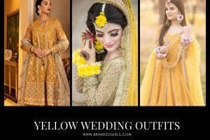 Yellow Wedding Dress – 25 Yellow Outfits for Haldi and Mayun