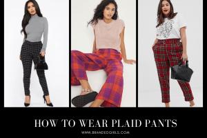 How to Wear Plaid Pants 15 Best Plaid Pants Outfit Ideas