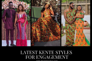 Kente Styles for Engagement 2021 Top 20 Kente Styles